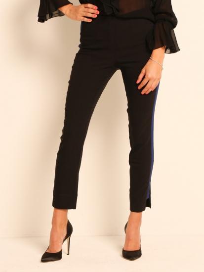 Shape Pants Classic mit Galonstreifen schwarz-blau
