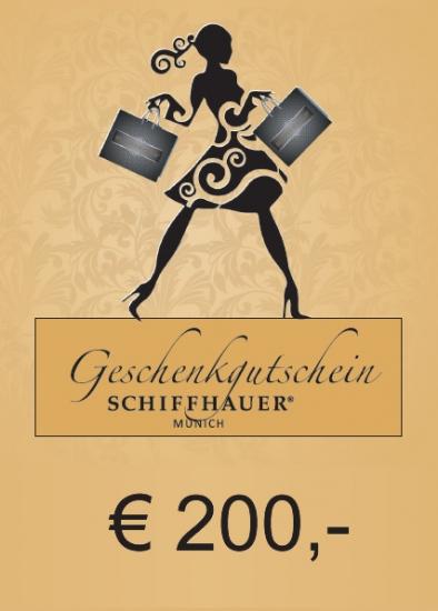 Geschenkgutschein € 200