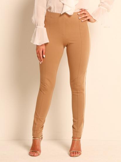 Pants Galonstreifen camel