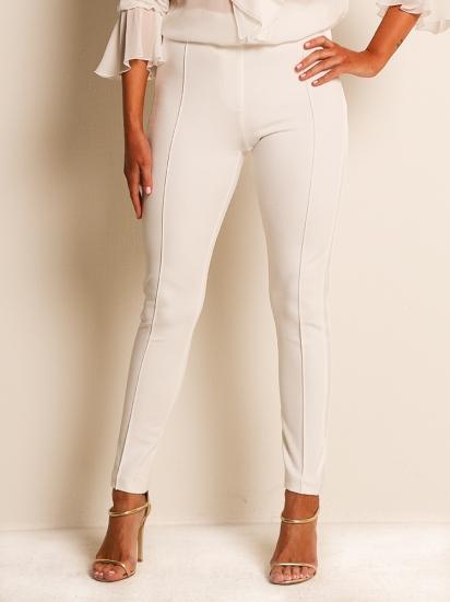 Pants Galonstreifen off-white