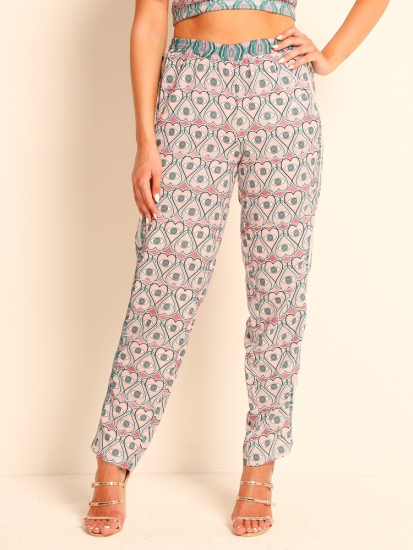 "Pants Print ""Eye of the Heart"""
